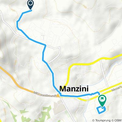 Slow ride in Manzini