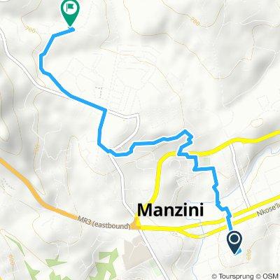 Moderate route in Manzini