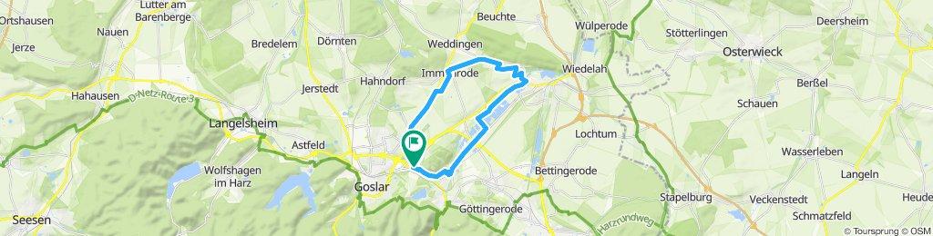 Einfache Fahrt in Goslar mit Rüdiger