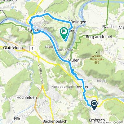 Gemütliche Route in Buchberg