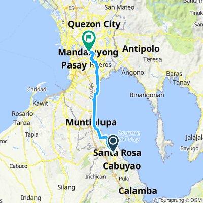 bike commute laguna to mandaluyong