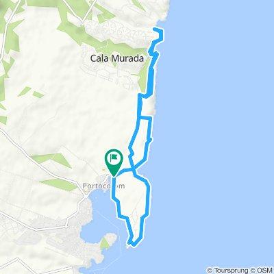 Mallorca a peu: Portocolom-cala Domingos-Portocolom