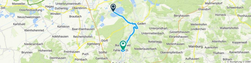 Entspannende Route in Rohrbach an der Ilm