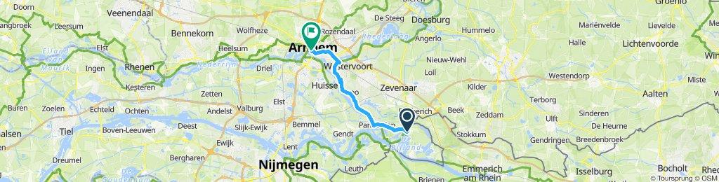 Langsame Fahrt in Arnheim