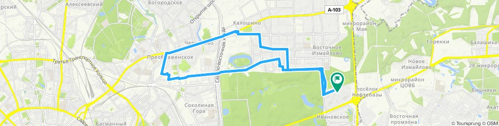 Воскресная велопрогулка по ВАО г. Москвы + заезд в Мастерскую (замена цепи) 22 09 2019