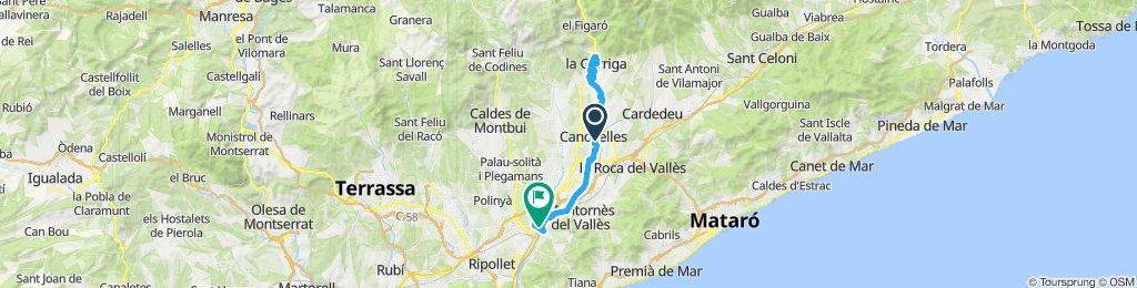 ruta jordi villa y Luis