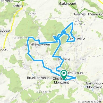 Facile à conduire Oinville-sur-Montcient