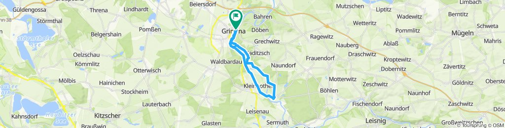 Entspannende Route in Grimma