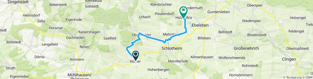 Körner - Volkenroda - Mehrstedt - Holzsussra