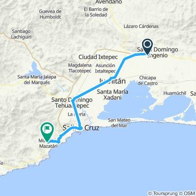 E50–La venta–Morro De Mazatlan