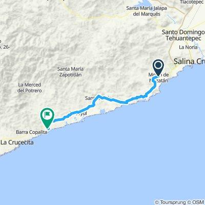E51–Morro De Mazatlan–Barra De La Cruz