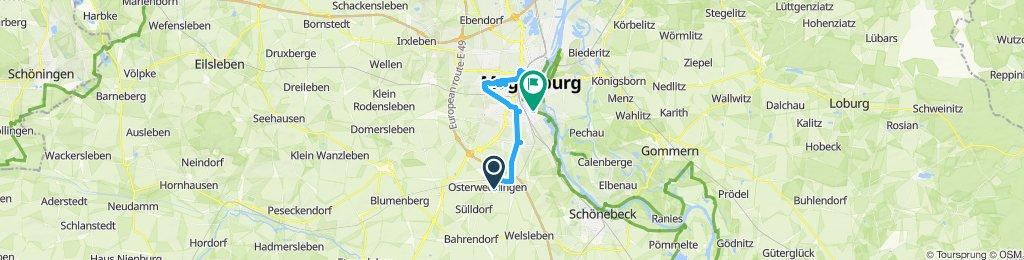 Sülzetal nach MD-Diesdorf, Mückenwirt, retour