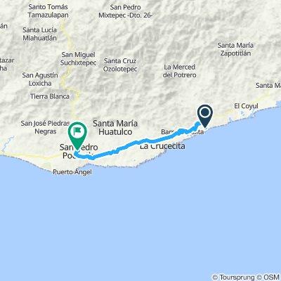 E52–Barra De La Cruz–San Pedro Pochutla