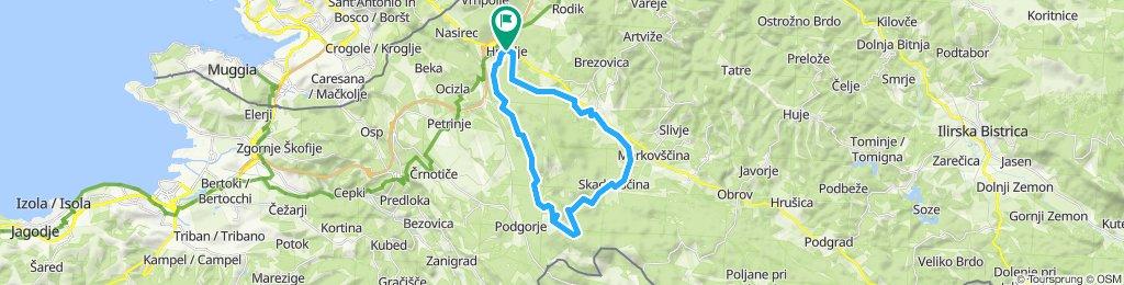 Kozina - Slavnik - Kozina