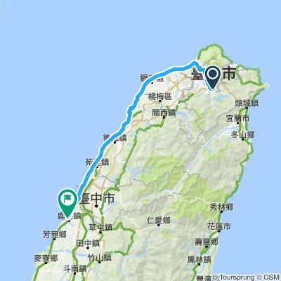 環島01 台北>鹿港