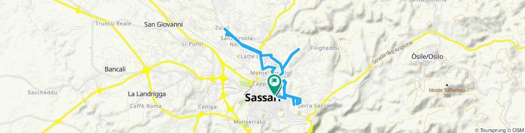 Percorso moderato a Sassari in bicicletta 💪🏻