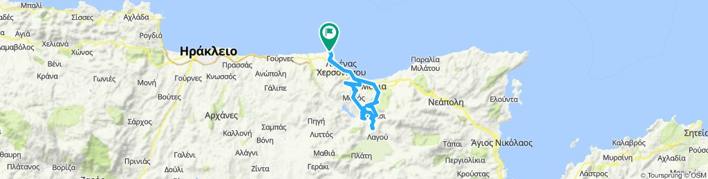 Bergtour in Chersonissos