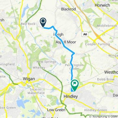 Cracking ride in Wigan