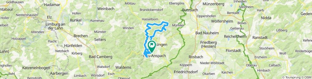 CTF 50 km (incl. Umleitung wegen Baustelle)