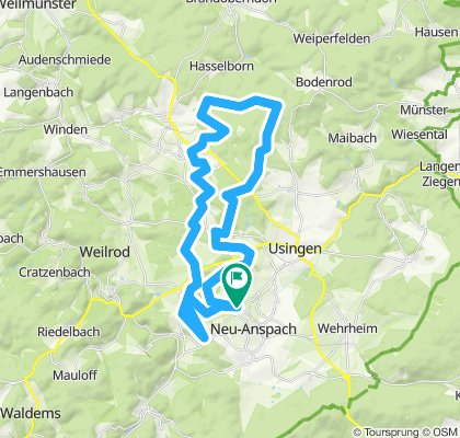 CTF 40 KM (incl. Umleitung wegen Baustelle)