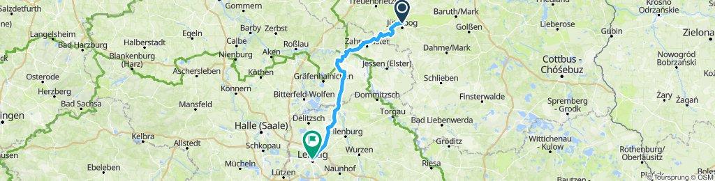 Bike trip to Leipzig