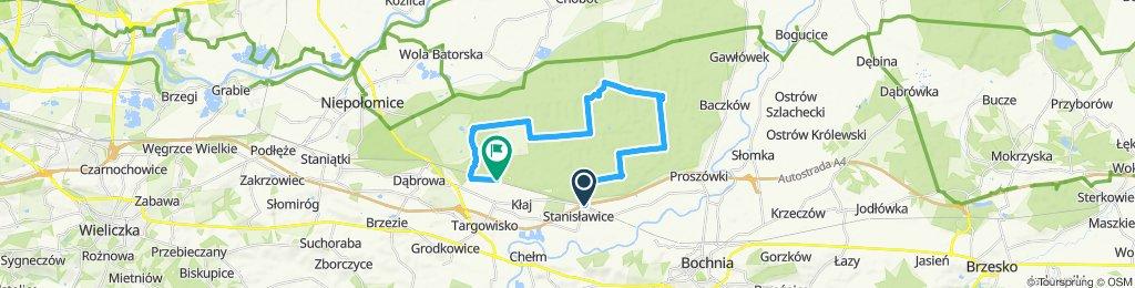 Ze Stanisławic do Kłaja