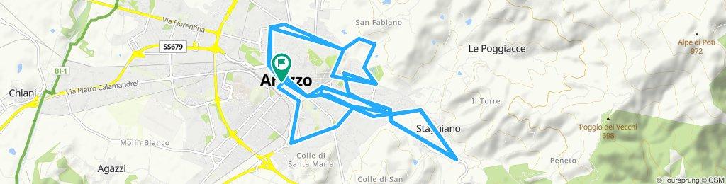Arezzo - Cicloturismo urbano