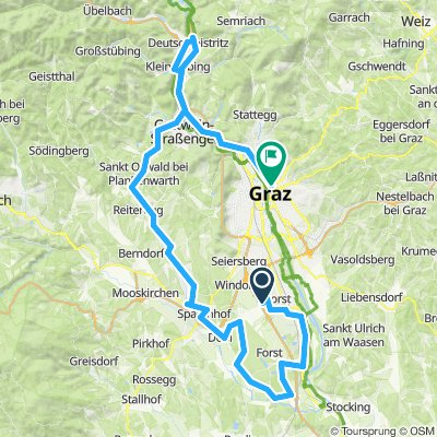 IRONMAN 70.3 Graz Bikemap v006
