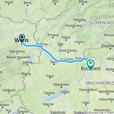 DANUBE VIENNA TO BUDAPEST