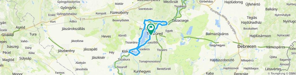 Tisza-tó szombat nagy kör
