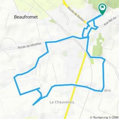 Itinéraire modéré en Saint-Gildas-des-Bois