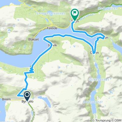 Etappe 5 Byrkjelo - Stryn