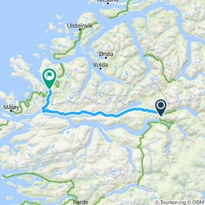 Etappe 6 Stryn - Åheim