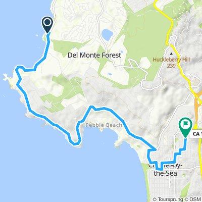 Moderate route in Carmel