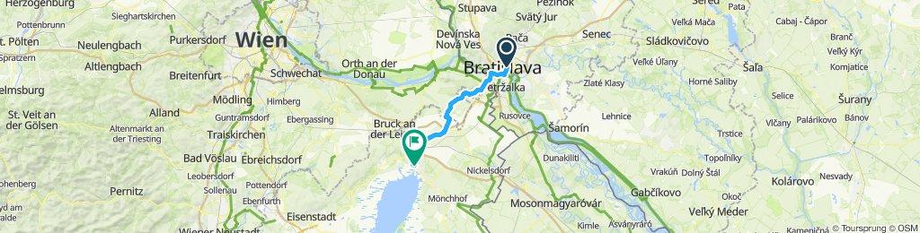 Schnelle Tour in Pressburg