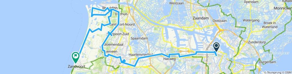 Amsterdam- Haarlem-Ilmuiden -Zandvoort