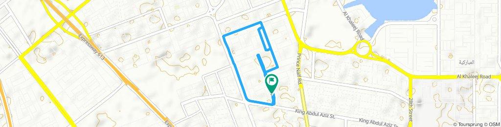 Moderate route in Dammam