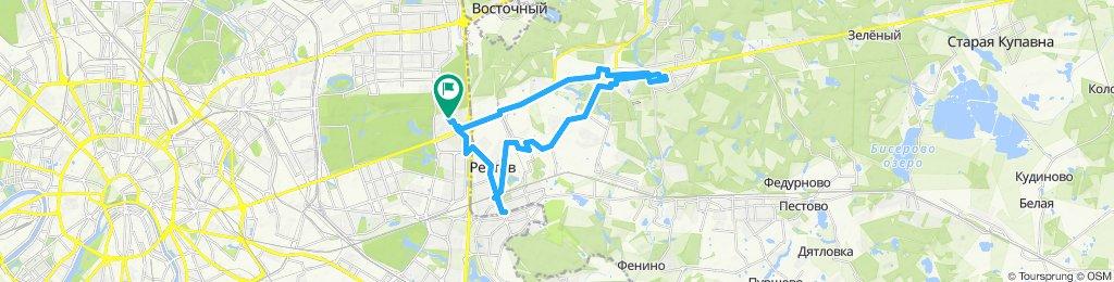 Велоездки осенние - Реутов дважды + Балашиха  25 09 2019