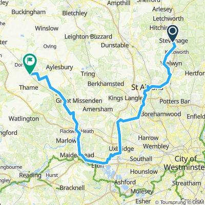 Stevenage to Aylesbury