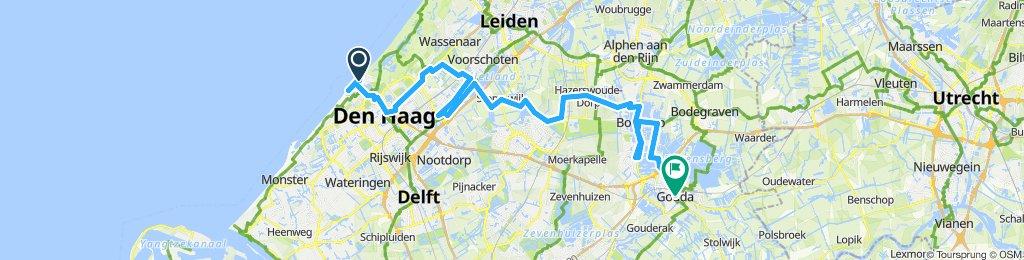 Scheveningen-Den Haag-Gouda
