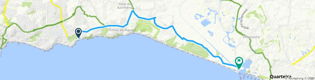Santa Euralia to Vilamoura