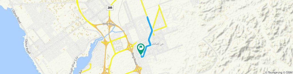 High-speed route in جدّة