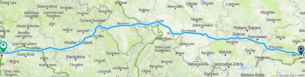 Kraków - Praga