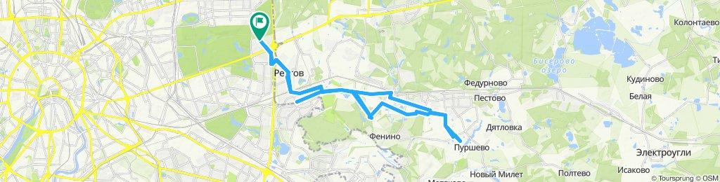 Велоездки деловые Салтыковка (полигон Кучино), Саввино 26 09 2019