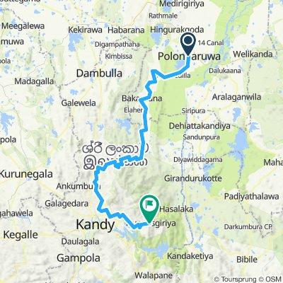 Polonnaruwa - Hunnasgiriya (Spice Tour of Sri Lanka Stage 3)