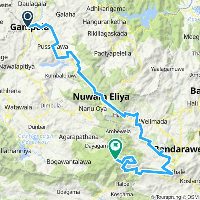 Gambola - Horton Plains (Sri Lanka Spice Tour Stage 6)