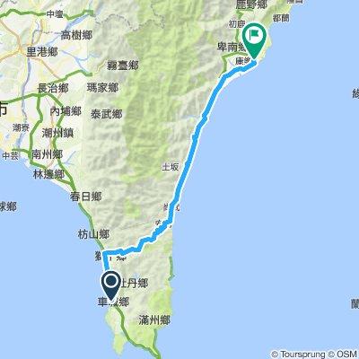 day 8 車城-壽卡-台東