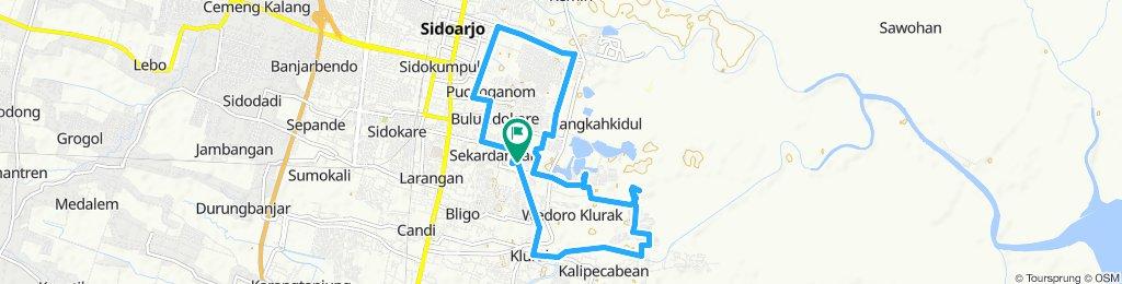 Slow ride in Sidoarjo