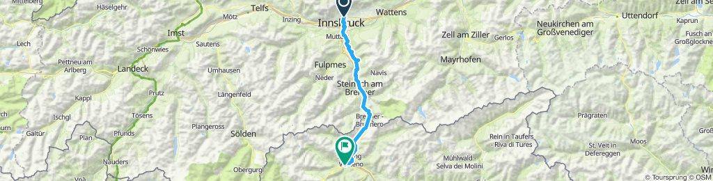 Tag 1 Innsbruck- Sterzing