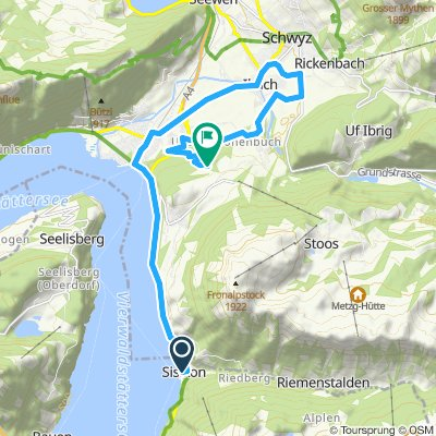 """518. """"Passo San Gottardo/ Sankt Gotthard-Pass, Schöllenenschlucht und Axenstrasse""""  (Teil 3 von 3)"""